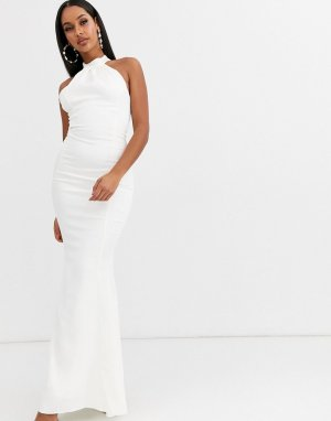 Свадебное платье с американской проймой -Белый Lipsy