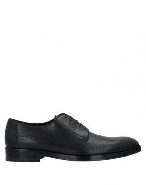 Обувь на шнурках CANALI. Цвет: черный