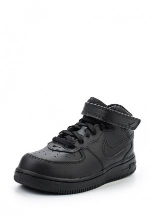 Кеды Nike Boys Air Force 1 Mid (TD) Toddler Shoe. Цвет: черный