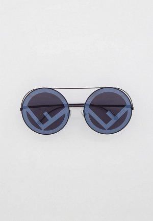 Очки солнцезащитные Fendi FF 0285/S 807. Цвет: черный