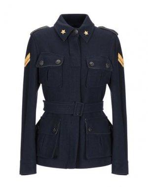 Куртка FEMME by MICHELE ROSSI. Цвет: темно-синий
