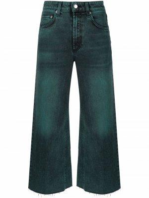 Расклешенные джинсы Department 5. Цвет: зеленый