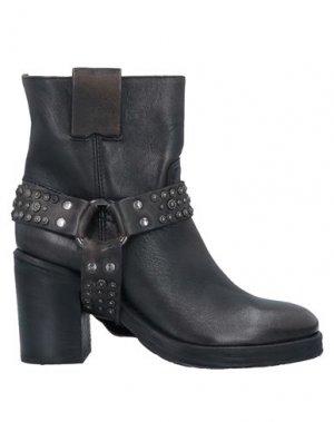 Полусапоги и высокие ботинки POLICE 883. Цвет: стальной серый