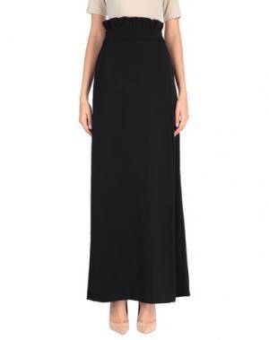 Длинная юбка ANIYE BY. Цвет: черный