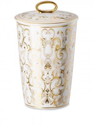 Ароматическая свеча Medusa Gala Versace Home. Цвет: белый