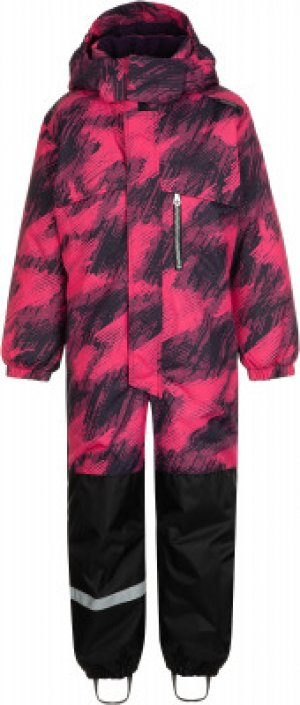 Комбинезон для девочек Danem, размер 128 LASSIE. Цвет: розовый