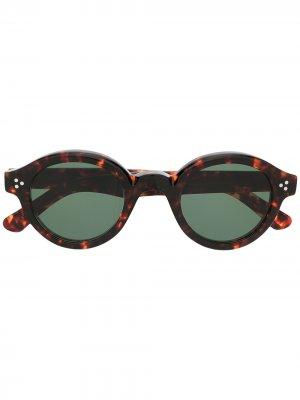 Солнцезащитные очки Corbs Lesca. Цвет: коричневый