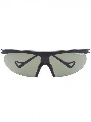Солнцезащитные очки Koharu Eclipse District Vision. Цвет: черный