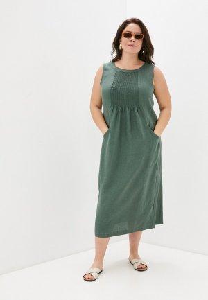 Платье Electrastyle. Цвет: зеленый