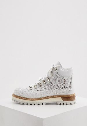 Ботинки Le Silla. Цвет: серый