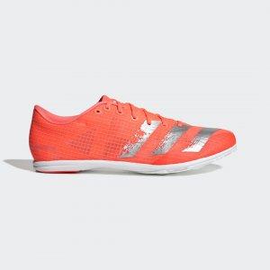 Шиповки для легкой атлетики Distancestar Performance adidas. Цвет: серебристый