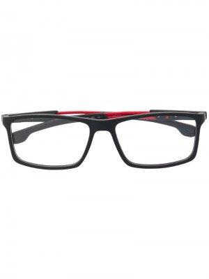 Классические очки в квадратной оправе Carrera. Цвет: черный