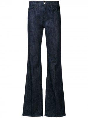 Классические расклешенные джинсы Current/Elliott. Цвет: синий