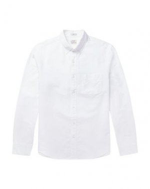 Pубашка J.CREW. Цвет: белый