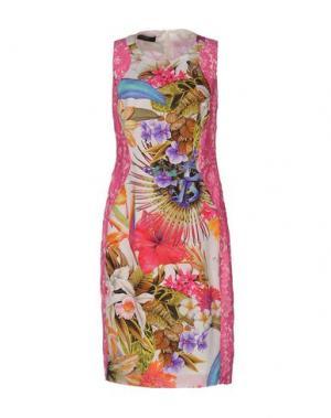 Платье до колена CLIPS. Цвет: фиолетовый