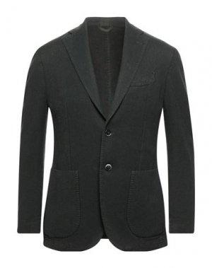 Пиджак EDDY & BROS. Цвет: зеленый-милитари