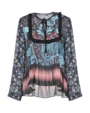 Блузка CLOVER CANYON. Цвет: небесно-голубой