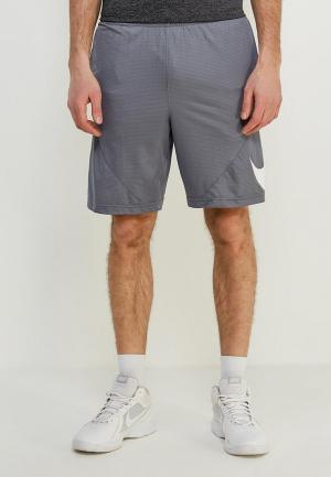 Шорты спортивные Nike Mens Basketball Shorts. Цвет: серый