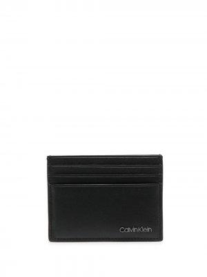 Картхолдер с логотипом Calvin Klein. Цвет: черный