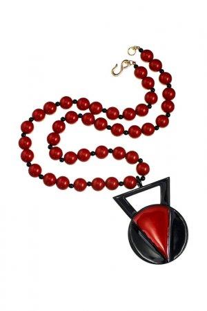 Ожерелье Kenneth Jay Lane. Цвет: красный