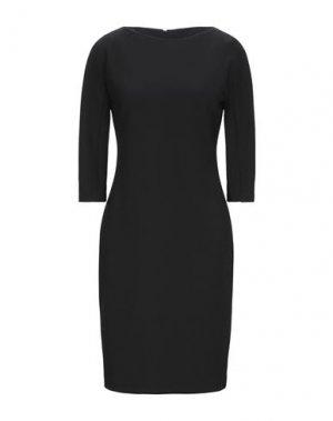 Короткое платье BLACK LABEL. Цвет: черный