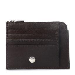Холдер д/кредитных карт EFG29 LUX темно-коричневый FERRE COLLEZIONI