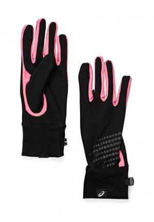 Перчатки ASICS BASIC PERFORMANCE GLOVES. Цвет: черный