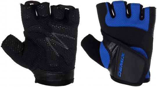 Перчатки для фитнеса Demix. Цвет: черный