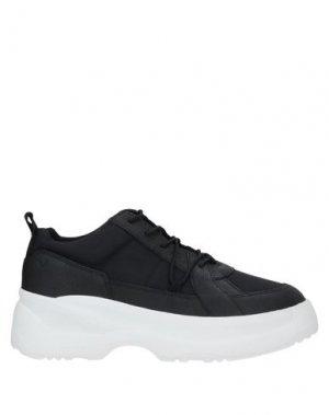 Кеды и кроссовки VAGABOND SHOEMAKERS. Цвет: черный