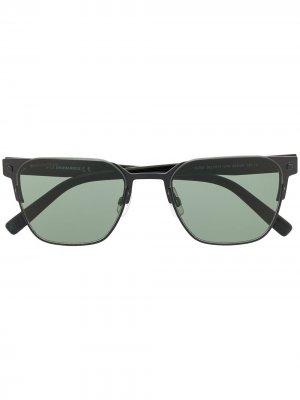 Солнцезащитные очки в квадратной оправе Dsquared2 Eyewear. Цвет: черный