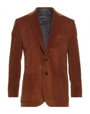 Пиджак SARTORIO. Цвет: коричневый
