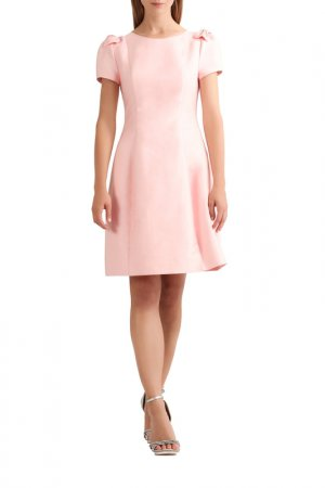 Сатиновое платье Apart. Цвет: пудровый