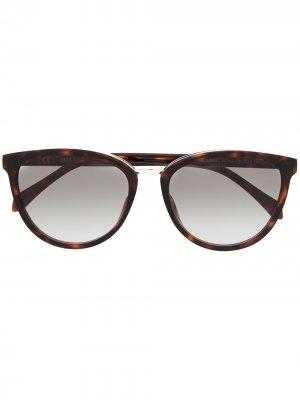 Солнцезащитные очки Forme Papillon Zadig&Voltaire. Цвет: коричневый