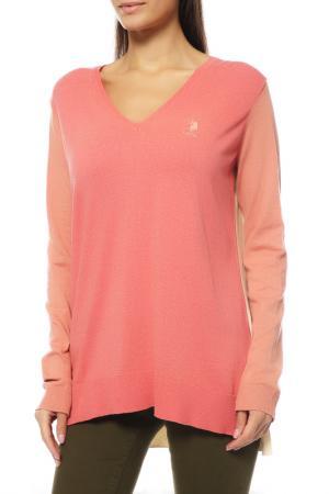 Пуловер U.S. Polo Assn.. Цвет: vr047 розовый