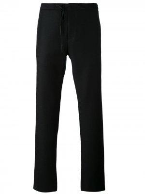 Классические брюки Maison Margiela. Цвет: черный