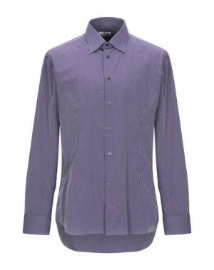 Pубашка BRANCACCIO C.. Цвет: темно-фиолетовый