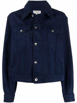 Джинсовая куртка YMC. Цвет: синий
