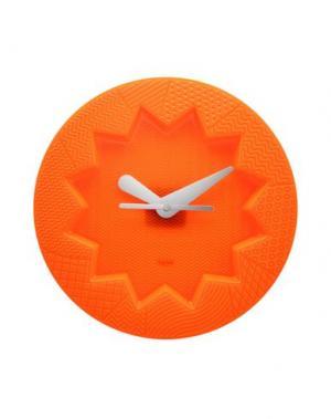 Настенные часы KARTELL. Цвет: оранжевый