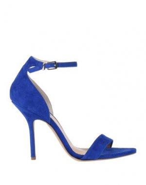 Сандалии ALLURE. Цвет: ярко-синий