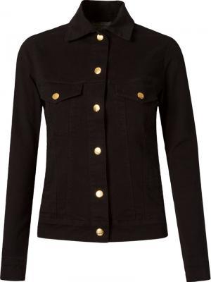 Приталенная куртка Amapô. Цвет: черный