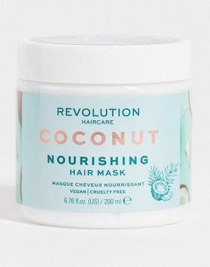 Питательная маска для волос с кокосом Revolution-Бесцветный Revolution Hair