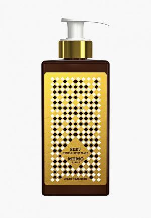 Гель для душа Memo Kedu Gentle Body Wash 250 мл. Цвет: прозрачный