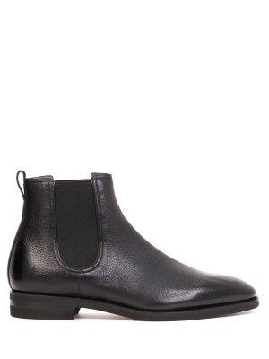 Ботинки-челси кожаные BALLY. Цвет: черный