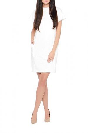 Платье Миди Alina Assi. Цвет: молочный
