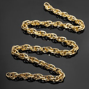 Цепочка без карабина l60см (набор 3шт), а1437 0.15*0.2*0.82*1.15, цвет золото Queen fair