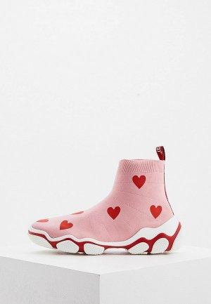 Кроссовки RED(V). Цвет: розовый