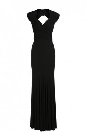 Платье вечернее Herve L.Leroux. Цвет: черный