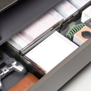 1шт случайный Выдвижной ящик Доска для раздела SHEIN. Цвет: многоцветный