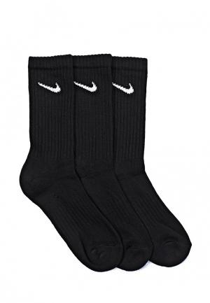 Комплект Nike UNISEX CUSHION CREW TRAINING SOCK (3 PAIR). Цвет: черный