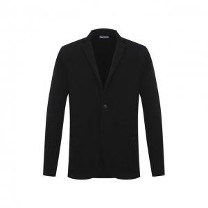 Шерстяной пиджак Gran Sasso. Цвет: чёрный